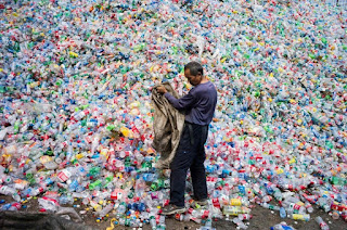 plastic bottle recycling, China