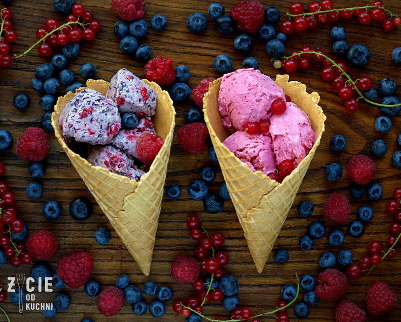 domowe lody, przepis na lody, jak zrobić lody, lody owocowe, lody z owocami, lody bez maszyny,