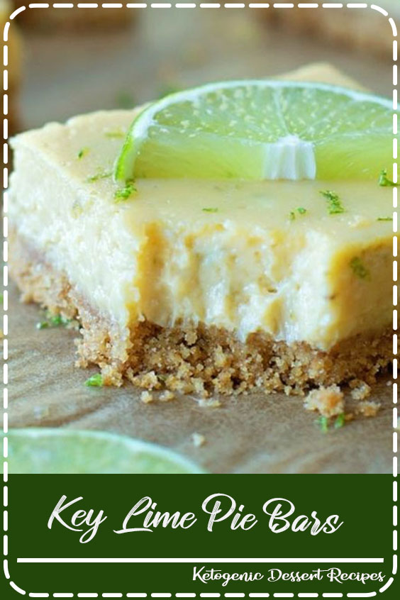 One of everyone's favorite desserts in a bar form! These Key Lime Pie Bars have a graham cracker crust and a delicious cream cheese and lime filling!