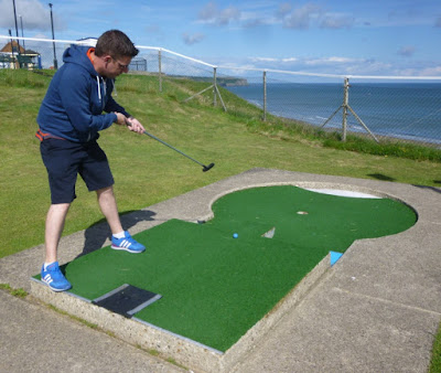Whitby's Arnold Palmer Crazy Golf course. August 2015