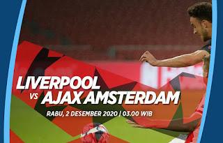 Prediksi Liverpool vs Ajax