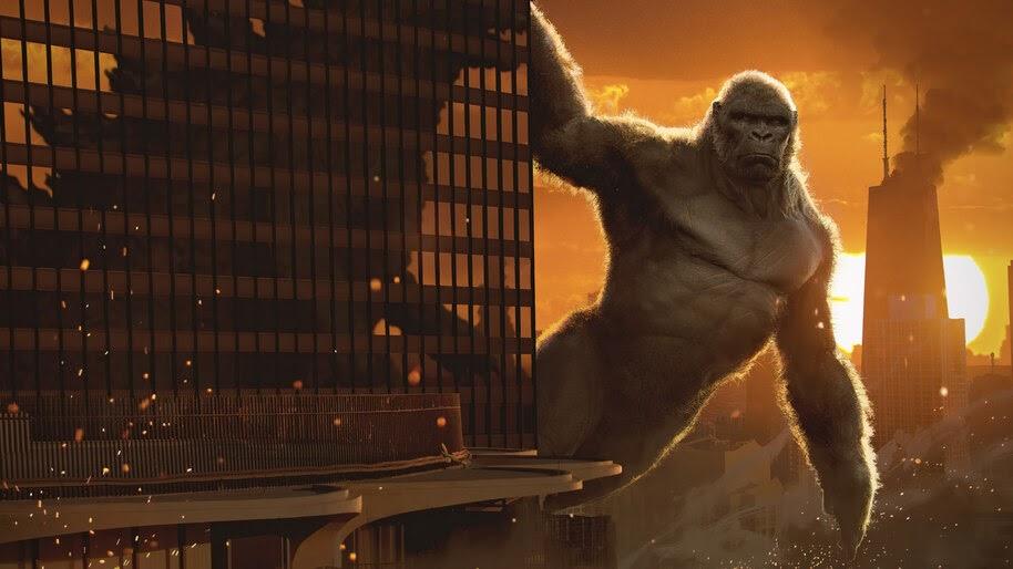 King Kong, Godzilla vs. Kong, Movie, 4K, #3.2283