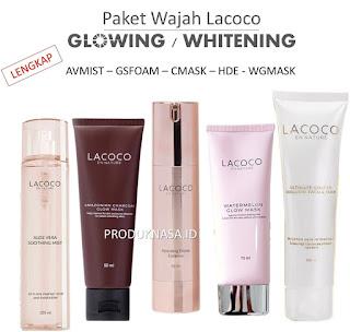 Paket Lacoco Glowing Whitening