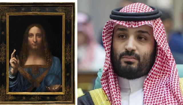Salvator Mundi + Mohammed Bin Salman