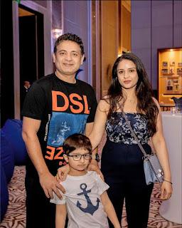 piyush chawla family