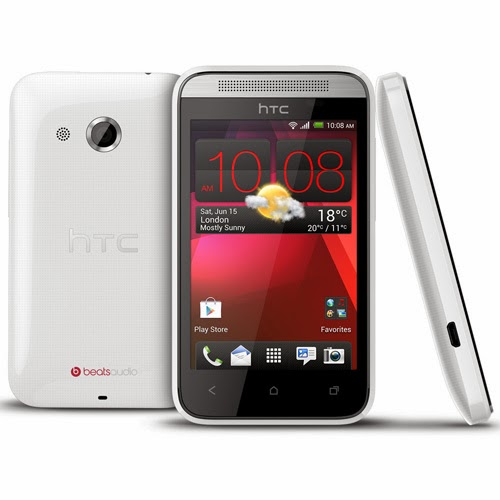 HTC Desire 200 pictures