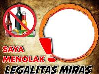 Tolak Investasi Miras, Kampanye Twibbon Bergema!