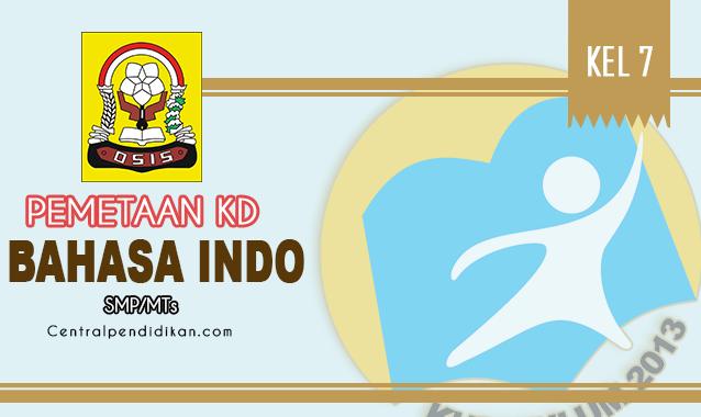 Pemetaan KD Bahasa Indonesia SMP Kelas 7 K13 Edisi 2021/2022