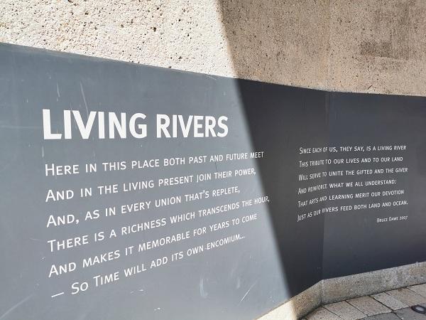 River Poem by Bruce Dawe I Albury Public Art