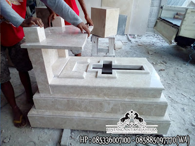 Makam Katolik Model Eropa Terbaru | Model Makam Bayi Marmer