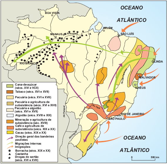 Arquipélago econômico brasileiro