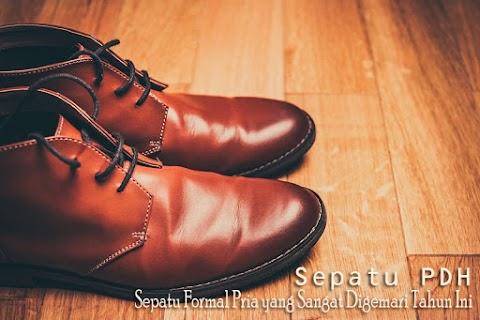 Sepatu PDH, Sepatu Formal Pria yang Sangat Digemari Tahun Ini