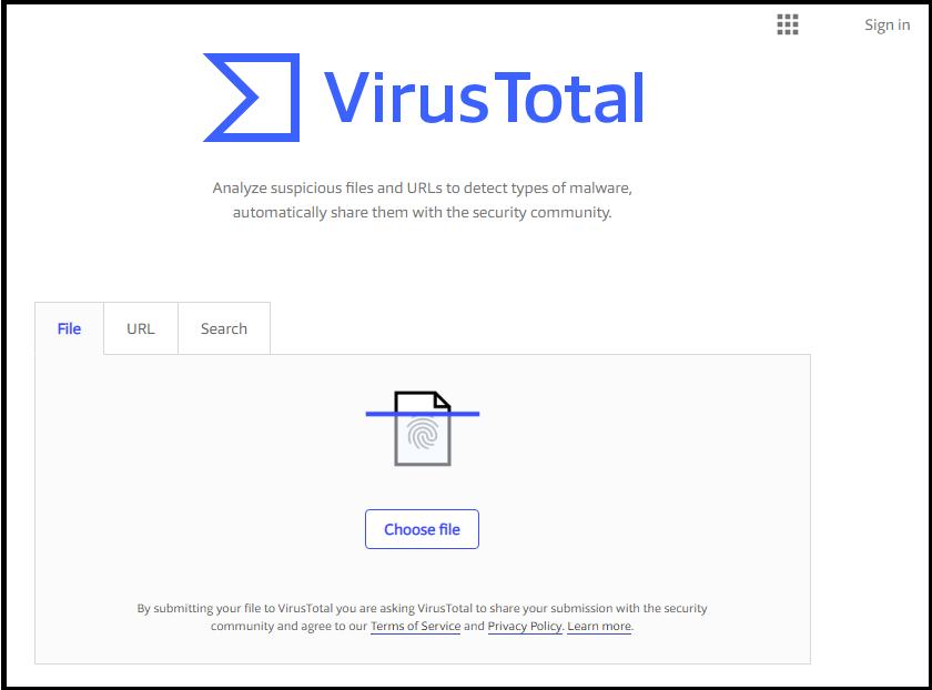 किसी फाइल में Virus कैसे Check करें ?