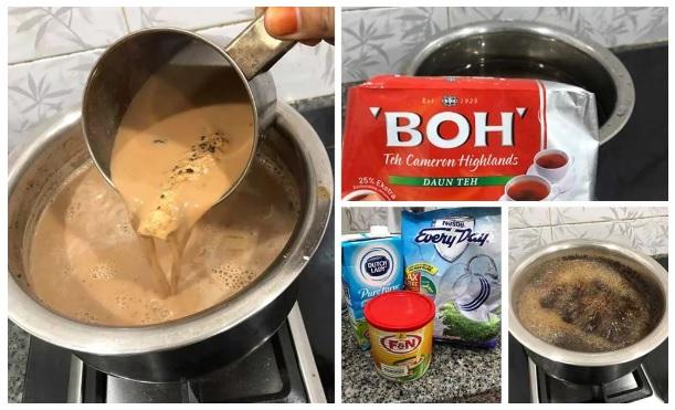 Jom Buat Sendiri Teh Masala,resepi teh masala, bahan-bahan teh masala, cara buat sendiri teh masala