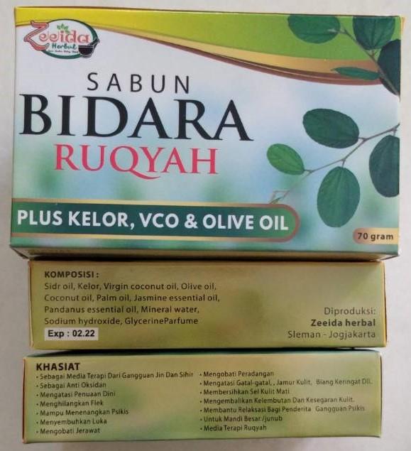 Sabun Bidara Ruqyah Plus VCO & Olive Oil