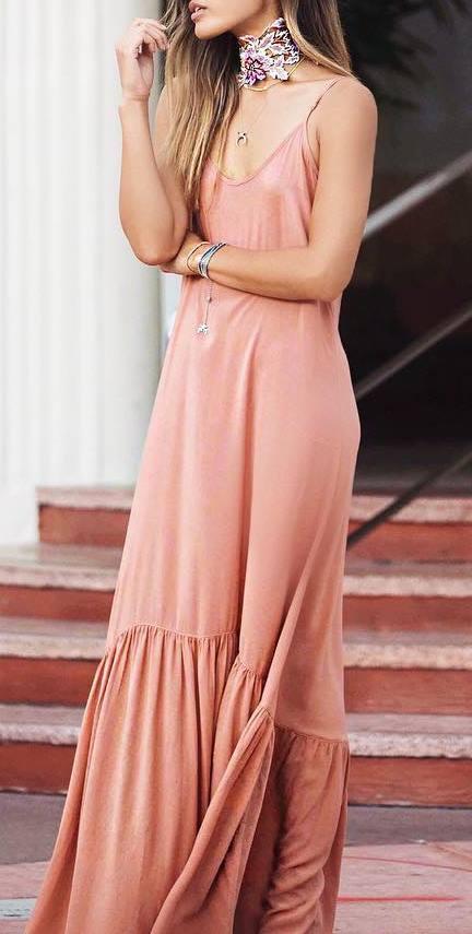 bohemian style outfit idea