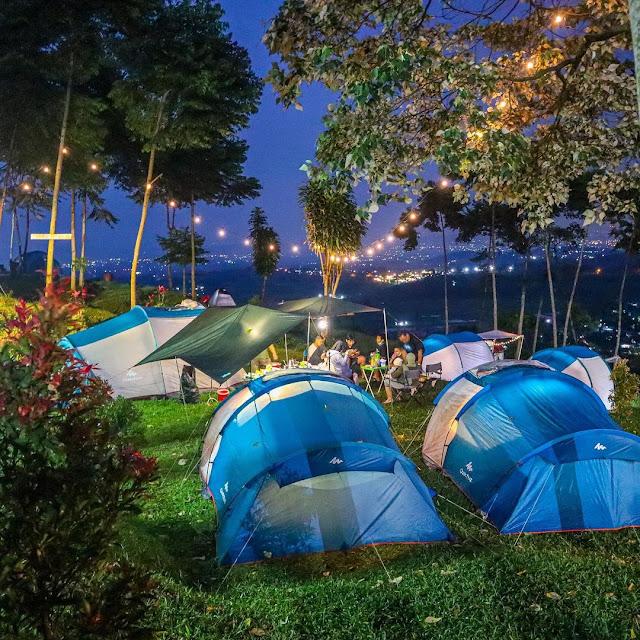 Lokasi & Harga Camping D'Bunder View Pamijahan Bogor