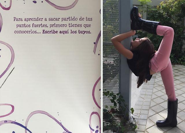 #OlympiaCuentos #AlmudenaCid #GimnasiaRitmica  #Olympia #PequeñaFashionista