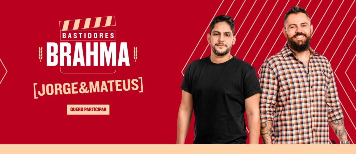 Promoção Bastidores Brahma Jorge e Mateus 2021 Geladeira Autografada