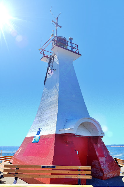 The beacon at Ogden Point...