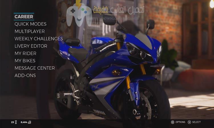 تحميل لعبة سباق الموتوسيكلات RIDE 3 مضغوطة بحجم صغير