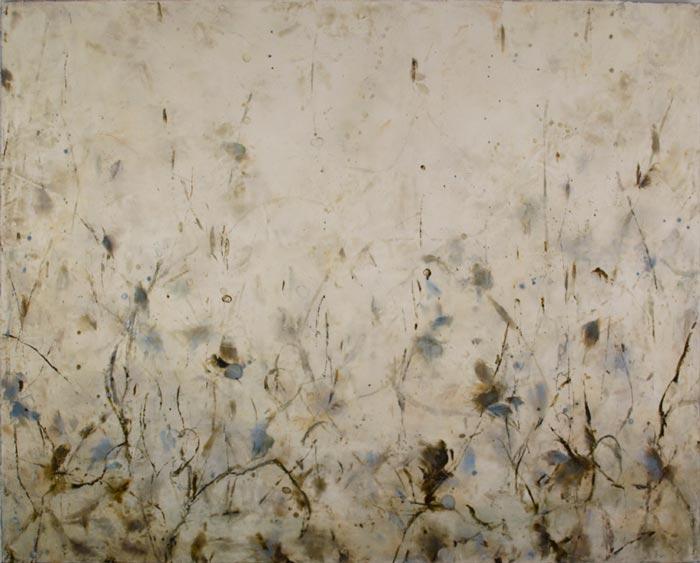 Betsy Eby encaustic painting Pleud des Cordes.