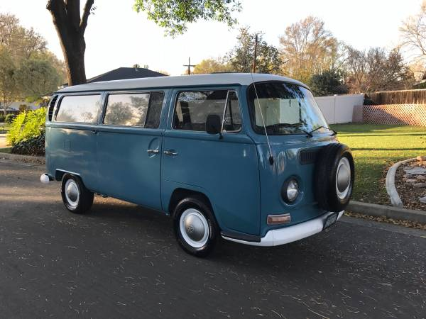 Vw Bus For Sale Craigslist >> Dove Blue 1968 Volkswagen Bus | vw bus wagon