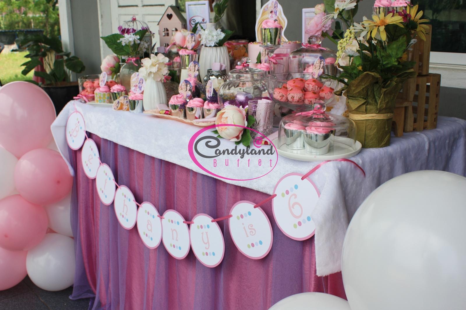 Barbie birthday theme candyland buffet barbie birthday theme izmirmasajfo