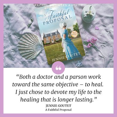 Quote from A Faithful Proposal by Jennie Goutet