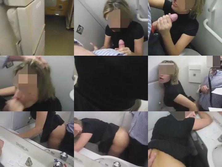 Metendo no Banheiro do Avião