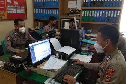 Puasa Hari Ke 2 Polres Palopo Tetap Laksanakan Verifikasi Online Rim Terpadu Calon Anggota Polri T.A. 2020