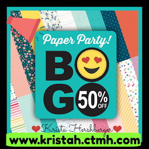 Paper PaRTY!!!!  BOGO 50% off!!