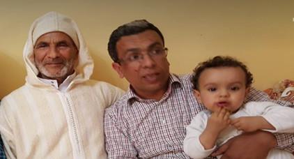 موقف مؤثر..المهداوي يناشد المحكمة للسماح له بحضور عيد ملاد إبنه