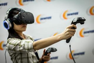 Kızılay için hazırlanan sanal gerçeklik teknolojisi ile deprem tatbikatı