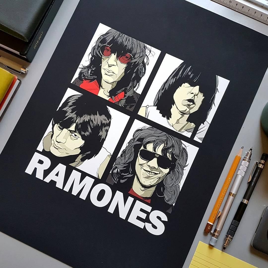 Ramones Poster print