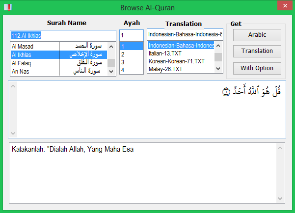 Add On Al Quran Di Word