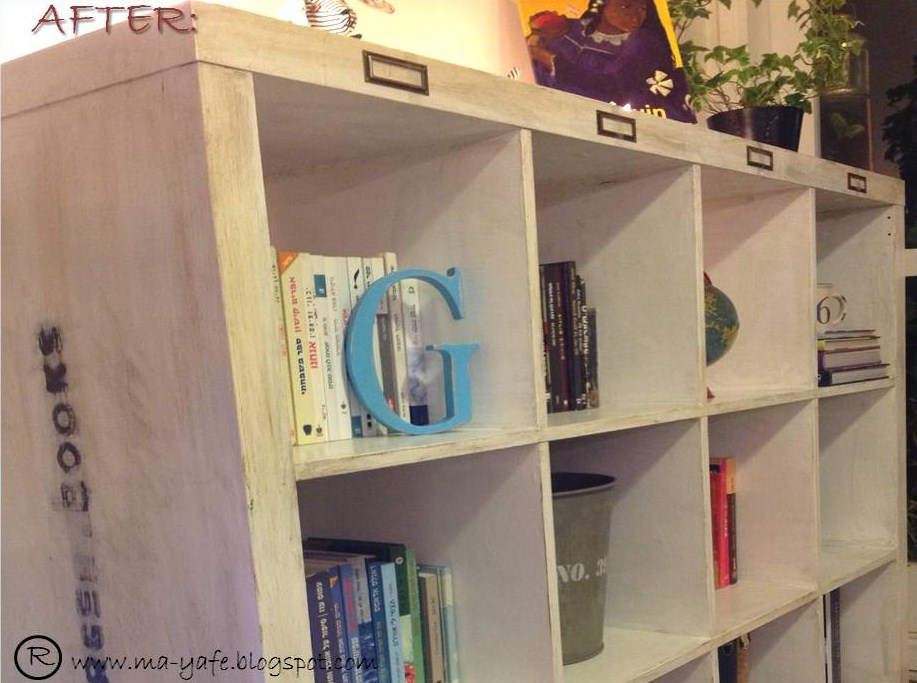 Ikea Expedit Bookcase Chic Makeover