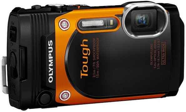 Olympus TG-860 Tough Waterproof Digital Camera
