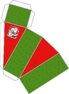 Diy Presente De Natal Sobremesa Luck Stars