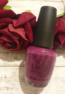 Review OPI Nail Lacquer Get cherried away - Coca Cola Kollektion