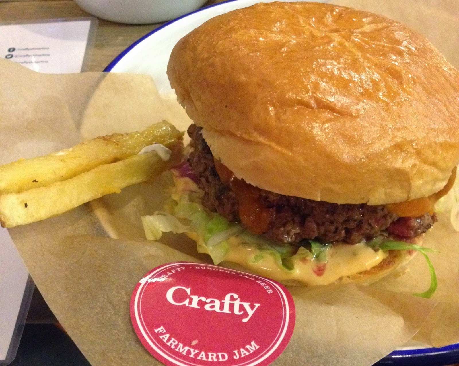 St Martins coffee Crafty Leicester burger