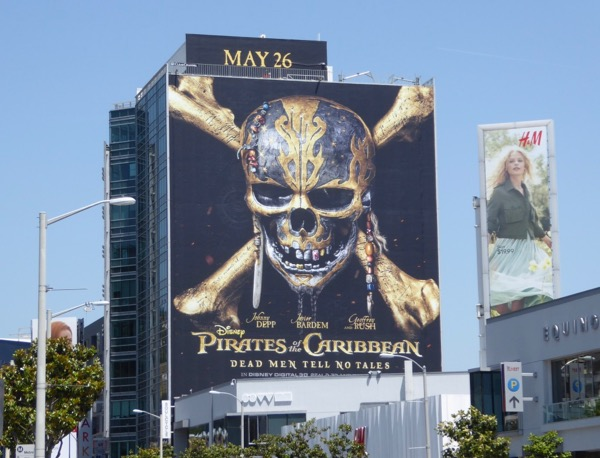 Pirates of the Caribbean Dead Men billboard