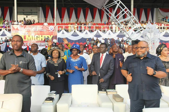 "Photos From ""The Almighty "" with General Overseer of Redeemed Christian Church of God, Pastor Enoch Adeboye"