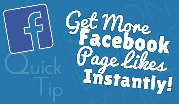 Get More Facebook Page Likes Instantly