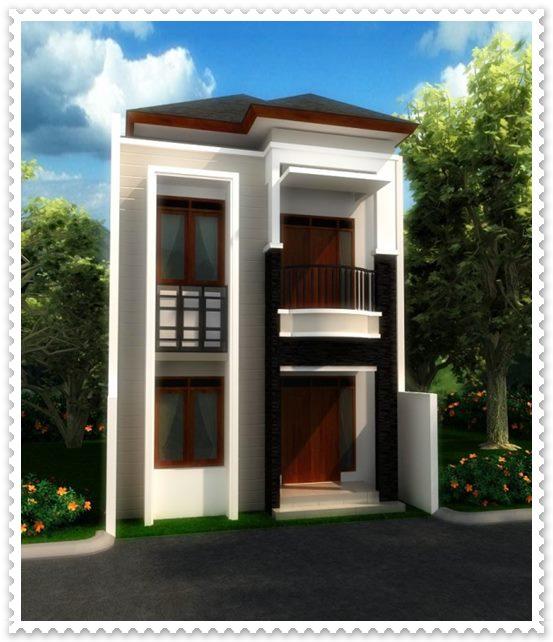 gambar desain rumah minimalis sederhana 2 lantai