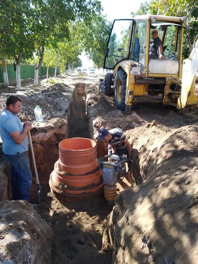 Extinderea sistemului de canalizare în orașul Leova