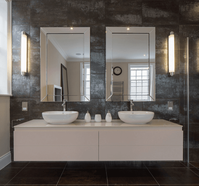 Mirror in Bathrooom Ideas - Double It