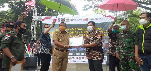 HPN 2021, Wakil Walikota Bandung Bersama Dansektor 22 dan JPCH Gelar Silaturahmi