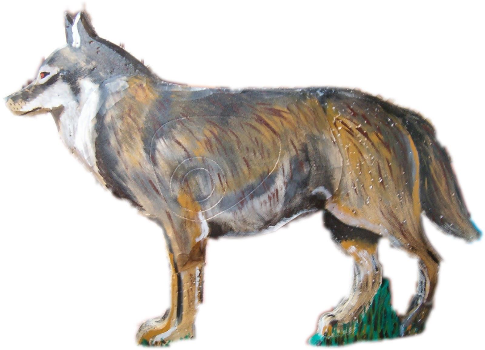 Colección De Silueta De Lobo: SILUETAS DE ALFACAR: CARNÍVOROS. Lobo Ibérico