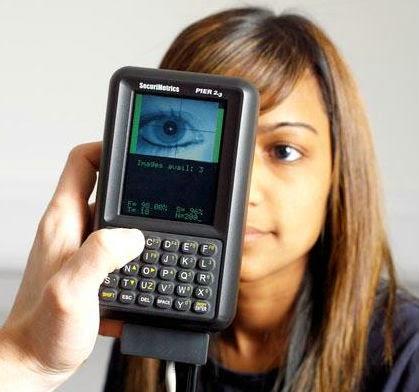 Portable Iris Scanner